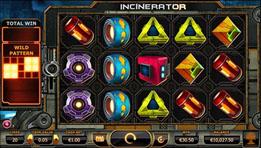 incinerator slot game from yggrasil
