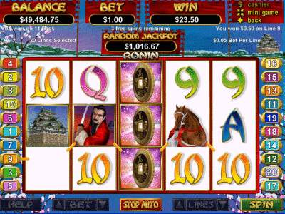 Ronin Slot Machine - Play for Free Online with No Downloads