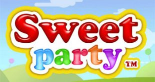 sweet party slot logo