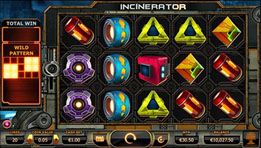 incinerator slot game from yggrasil