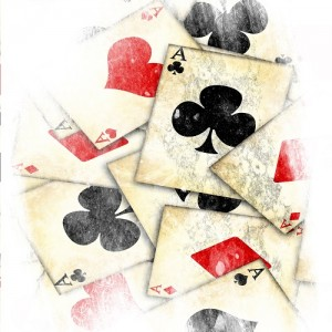 10 Free Spins - Old Playing Cards