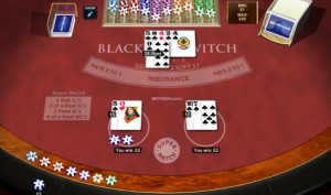 blackjack switch table