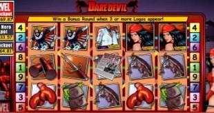 Daredevil Slot from Marvel
