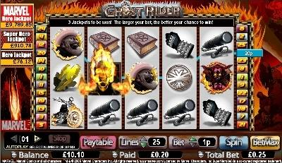 Ghost Rider slot game