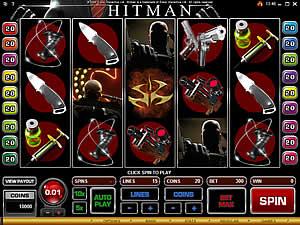 Hitman the slot machine game