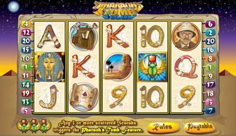 pharaohs tomb slot game