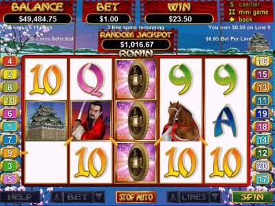 ronin slot game