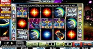 silver surfer slot screen