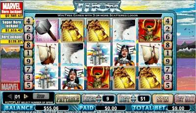 Thor Slot from Marvel