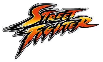 Street Fighter slot logo