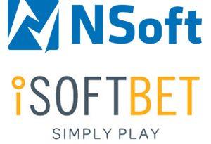 iSoftBet NSoft Logos