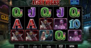 lost vegas slot zombies
