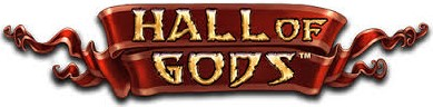 Hall of Gods Slot Logo - NetEnt player