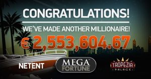 SlotMillion Mega Fortune Jackpot Winner
