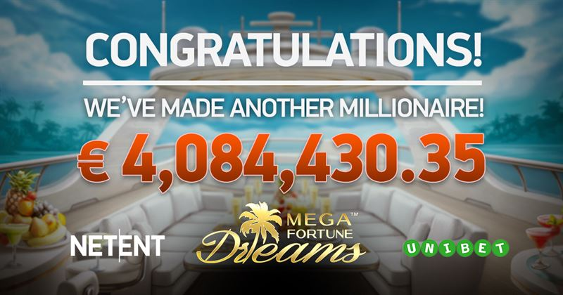 Mega Fortune Dreams Progressive Jackpot